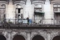 Woman on Balcony